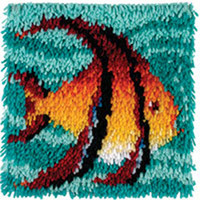 Angel Fish Latch Hook Rug Kit