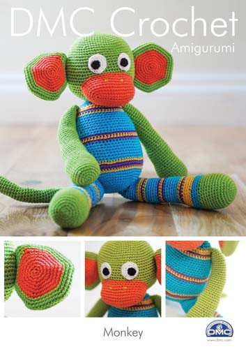 Monkey Crochet Pattern Booklet
