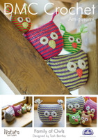 Family of Owls Crochet Pattern Booklet