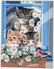 Les Petites Canailles 3 Tapestry Canvas