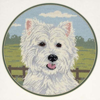 West Highland Terrier Tapestry Kit
