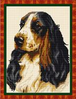 Cocker Spaniel Tapestry Kit