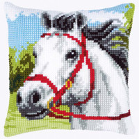 White Horse Chunky Cross Stitch Kit by Vervaco