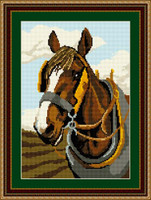 Shire Horse Tapestry Kit