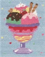Ice Cream Sundae Starter Tapestry Kit By Anchor