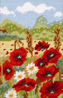 Poppy Fields Tapestry starter Kit