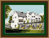 Blackwell House Windermere Tapestry Kit