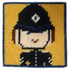 Police Officer Starter Tapestry Kit By Cleopatra