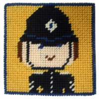 Police Officer Starter Tapestry Kit By Cleopatra