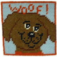 Woof Starter Tapestry Kit By Cleopatra