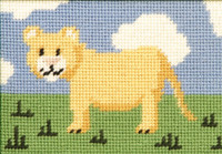 Larry Lion Cub Tapestry Starter Kit