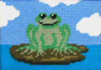 Freddie Frog Tapestry Kit
