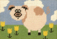 Penny Pig Starter Tapestry Kit