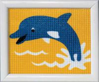 Dolphin Children Tapestry Kit