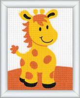 Giraffe Children Tapestry Kit