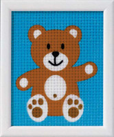Teddy Children Tapestry Kit