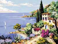 Mediterranee Tapestry Canvas