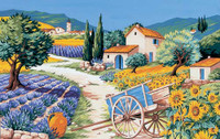 Provence Tapestry Canvas