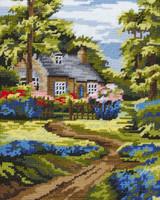 Spring Scene Tapestry Kit