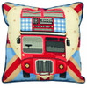 Red Bus on Union Jack Tapestry Kit by Anchor