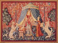 La Dame a la Licorne Tapestry Canvas