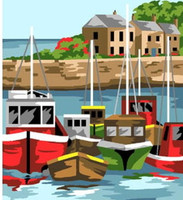 port Tranquille Tapestry Canvas