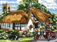 The Village of Welford Tapestry Kit