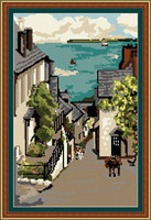 Clovelly Bay Tapestry Kit