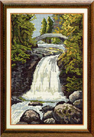 Falls of Garravalt Tapestry Kit