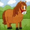 Ned the Horse Beginner Long Stitch Kit