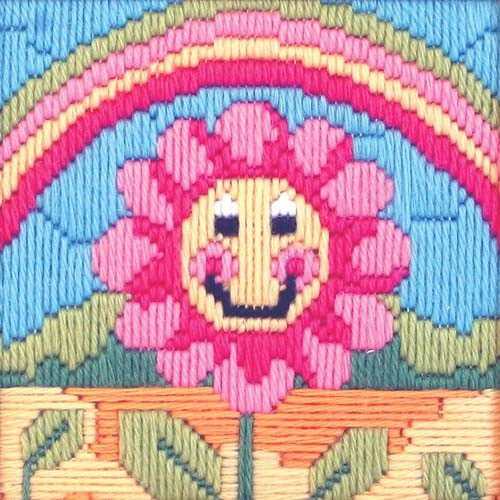 Friendly Flower Beginners Long Stitch Kit