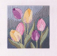 Tulips Longstitch Kit