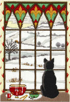 Winter Though the Window Long Stitch Kit