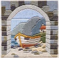 Boat thro Archway Longstitch Kit