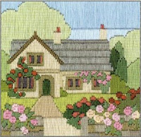 Rambling Rose Long Stitch Kit