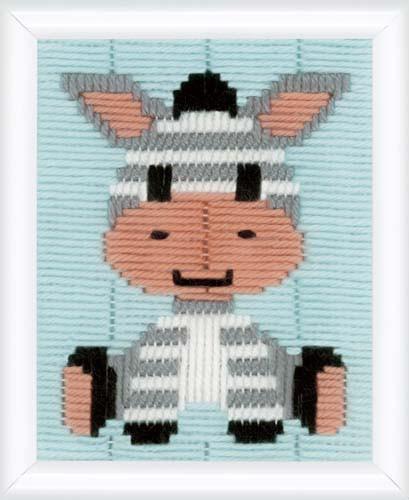 Zebra Longstitch Kit By Vervaco