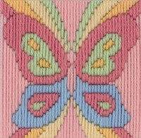 Beth Butterfly Longstitch Kit by Anchor