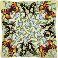 Butterflies Tapestry Cushion Kit