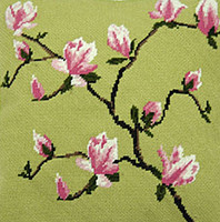 Spring Blossom Tapestry Cushion Kit
