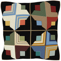 Patchwork Tapestry Cushion Kit