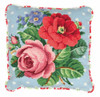 Berlin Rose Tapestry Cushion Kit