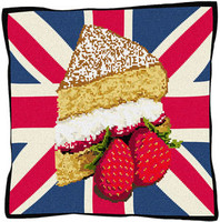 Afternoon Tea Tapestry Cushion Kit