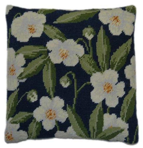 Christmas Rose Tapestry Cushion Kit