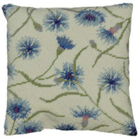 Cornflower Tapestry Cushion Kit