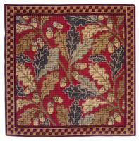 Red Acorn Tapestry Cushion Kit