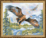 Free Fall Cross Stitch Kit by Riolis
