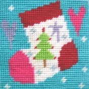 Stocking Christmas Needlepoint Kit