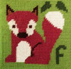 Fox Needle Point By Stitching Shed