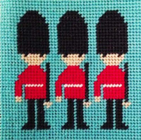 On Parade Needle Point By Stitching Shed