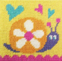 Snail Needle Point By Stitching Shed